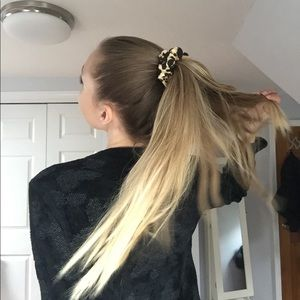 Cheetah Hair Scrunchie